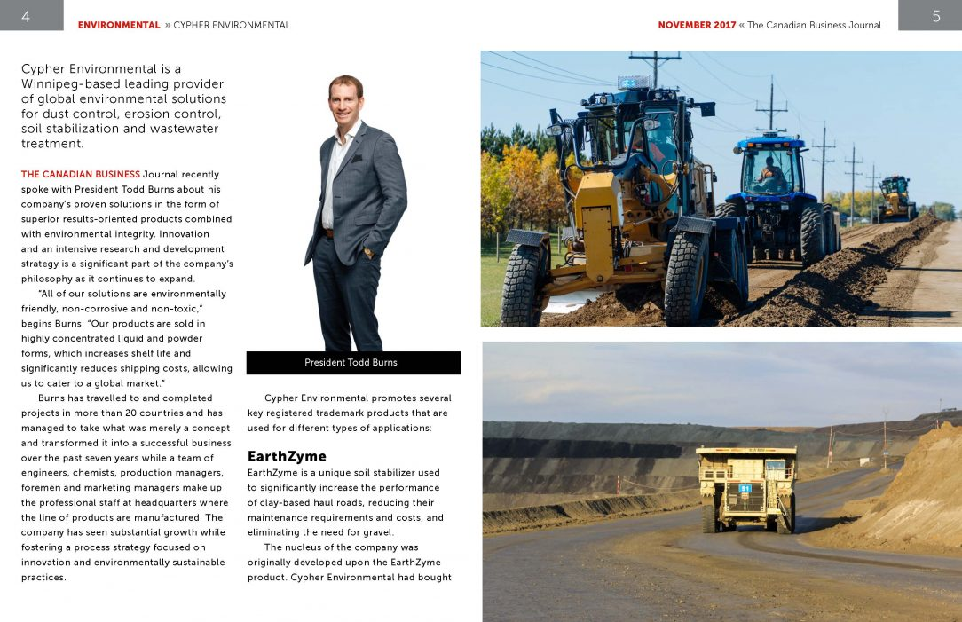 Canadian Business Journal - Feature