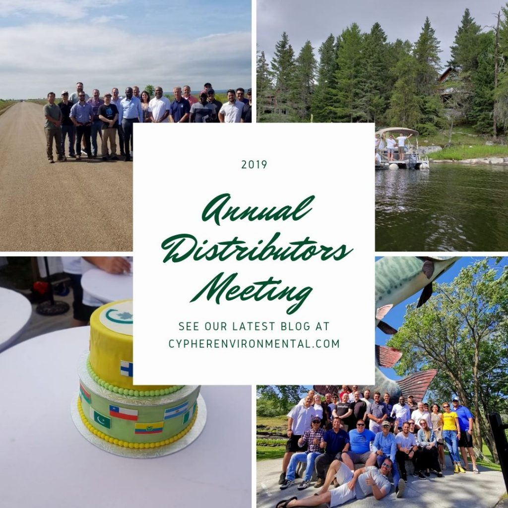 2019 Annual Distributors' Meeting - Cypher Environmental