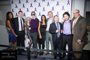 Cypher Team at the Purple Party
