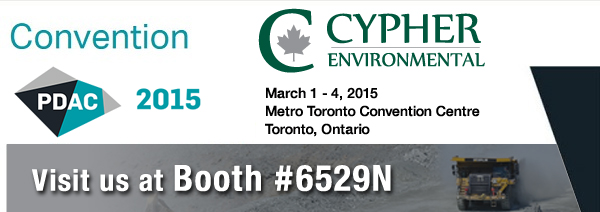 Cypher PDAC 2015 - EarthZyme, UltraZyme, Dust Stop