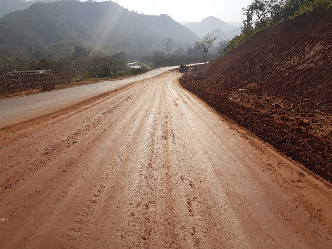 Cypher Environmental - EarthZyme Road Construction in Myanmar