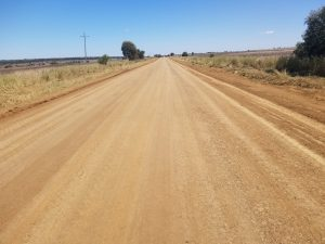 Road after EarthZyme® application