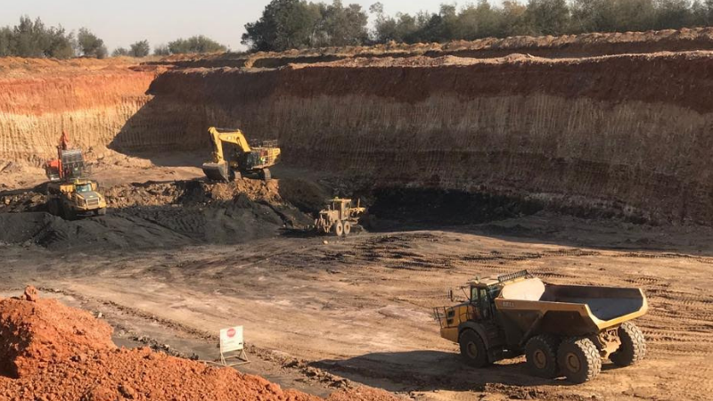 Modi Mining Site