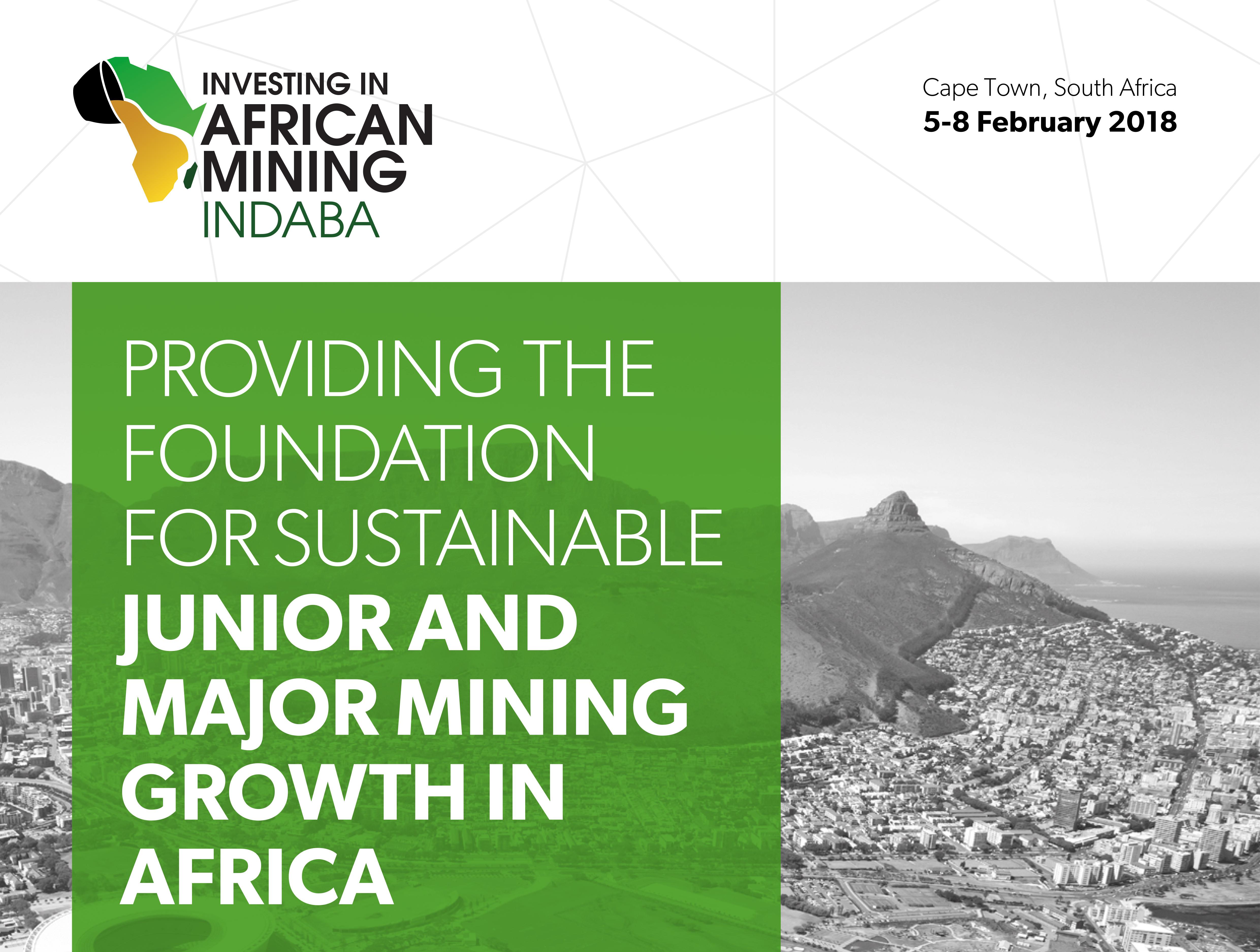 Mining Indaba 2018